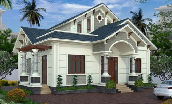 Những mẫu nhà cấp 4 đẹp ở nông thôn giá rẻ, chi phí thấp hoàn toàn có thể xây được-3