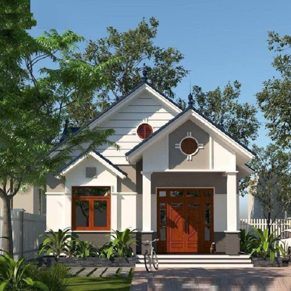 Những mẫu nhà cấp 4 đẹp ở nông thôn giá rẻ, chi phí thấp hoàn toàn có thể xây được-4