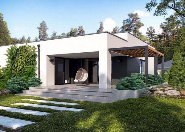 Những mẫu nhà cấp 4 đẹp ở nông thôn giá rẻ, chi phí thấp hoàn toàn có thể xây được-8