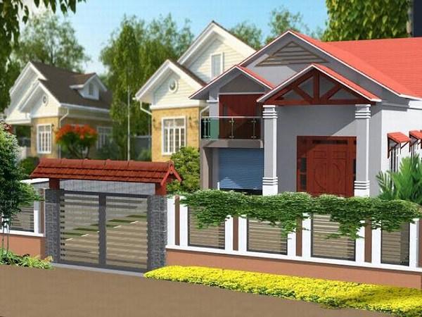Những mẫu nhà cấp 4 đẹp ở nông thôn giá rẻ, chi phí thấp hoàn toàn có thể xây được-9