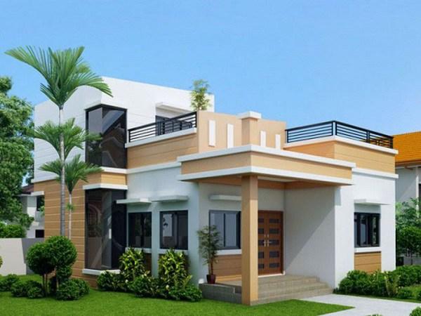 Những mẫu nhà cấp 4 đẹp ở nông thôn giá rẻ, chi phí thấp hoàn toàn có thể xây được-11