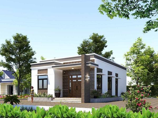 Những mẫu nhà cấp 4 đẹp ở nông thôn giá rẻ, chi phí thấp hoàn toàn có thể xây được-12