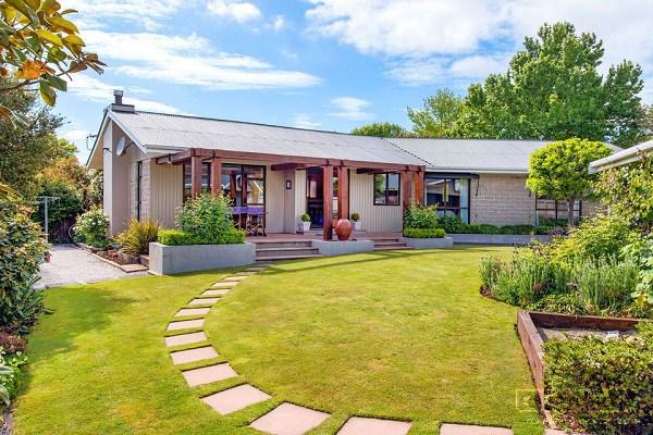 Những mẫu nhà cấp 4 đẹp ở nông thôn giá rẻ, chi phí thấp hoàn toàn có thể xây được-13