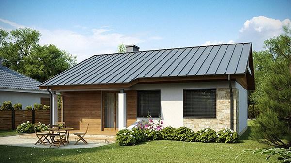 Những mẫu nhà cấp 4 đẹp ở nông thôn giá rẻ, chi phí thấp hoàn toàn có thể xây được-14