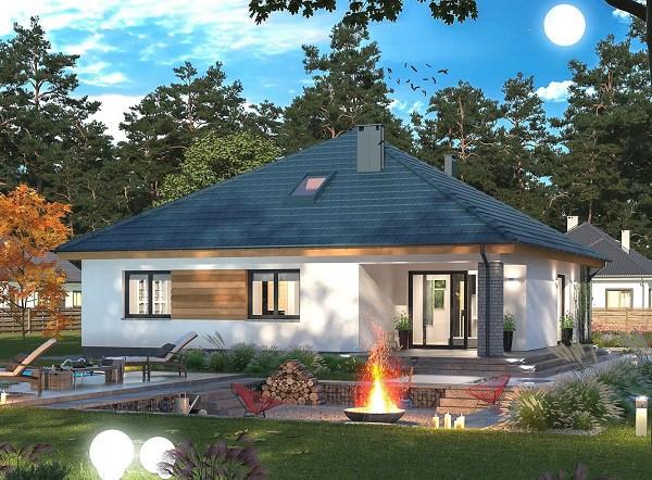Những mẫu nhà cấp 4 đẹp ở nông thôn giá rẻ, chi phí thấp hoàn toàn có thể xây được-15