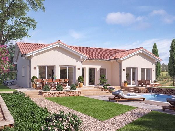 Những mẫu nhà cấp 4 đẹp ở nông thôn giá rẻ, chi phí thấp hoàn toàn có thể xây được-17