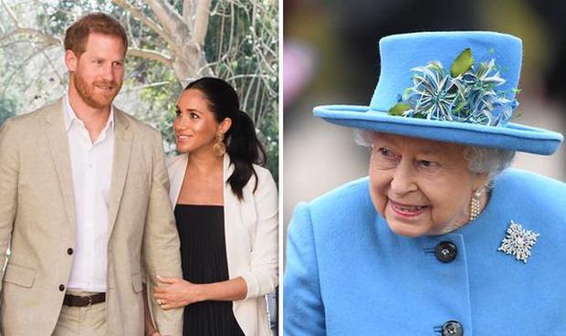 Sau phát ngôn động chạm bà nội của Harry, dân tình đào lại phản ứng của Nữ hoàng khi nghe tin vợ chồng cháu trai rời gia tộc-1