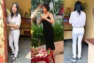 Phi Thanh Vân gây tranh cãi vì mang giày vào khu vực cúng Tổ nghề dù đã có biển nhắc nhở