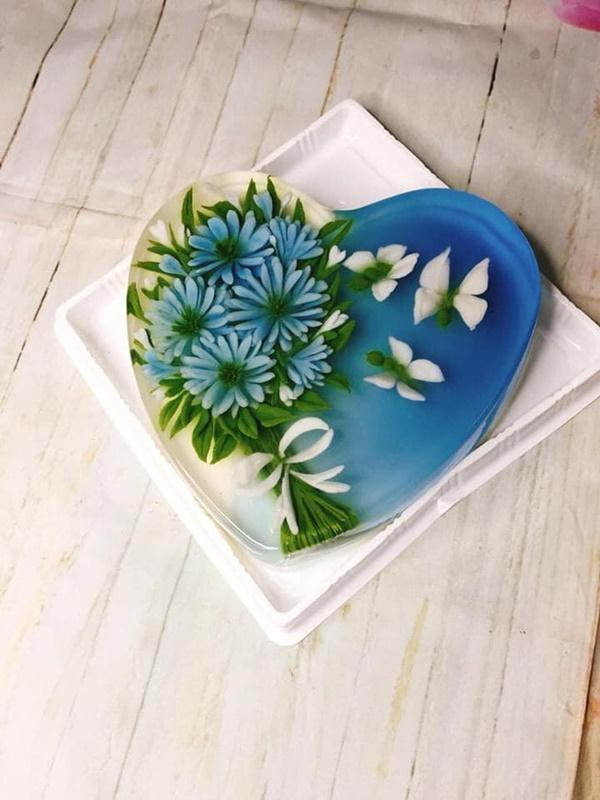 Mẹ 8x gây bão MXH với loạt món ăn xanh mướt từ hoa đậu biếc, chỉ nhìn đã thấy mát lịm tim!-4