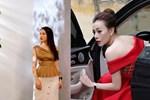 Phục thù lại mùa VTV Awards năm ngoái, năm nay Phương Oanh gây sốt với vòng eo siêu nhỏ, nhưng bộ đầm đen lại có phần hơi già-15