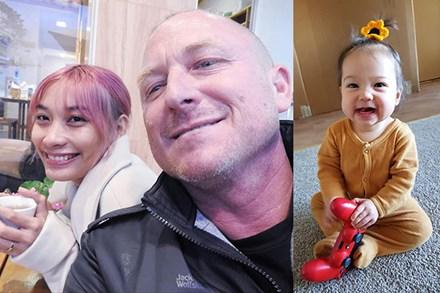 Hẹn hò qua app, nàng Việt xinh đẹp gặp được chàng Úc có cách cư xử như soái ca ngôn tình và cô con gái lai xinh như thiên thần ra đời