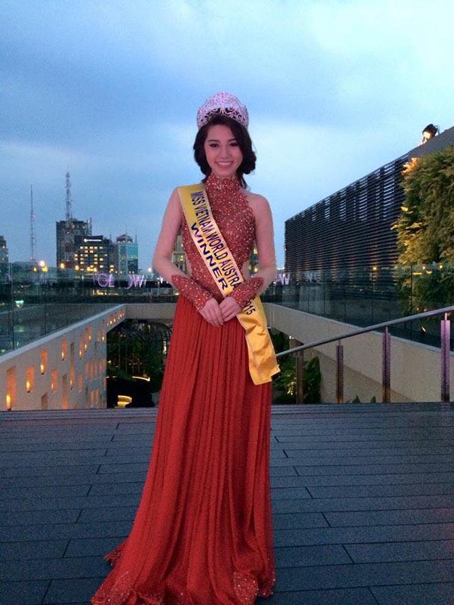 Cận cảnh nhan sắc thật của hoa hậu Jolie Nguyễn khi chưa phẫu thuật thẩm mỹ-1