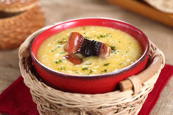 Cách nấu cháo lươn đậu xanh ngậy thơm bổ dưỡng cho bé ăn dặm-2