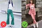 Nhìn Jolie Nguyễn mà rút kinh nghiệm, chị em đừng chọn mẫu quần này nếu không muốn dìm dáng và người lùn 1 mẩu