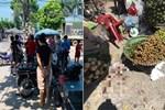 Vụ người phụ nữ bán hoa quả bị đâm tử vong ở Hà Nội: Một khách hàng đem 2 nghìn đồng đến hiện trường trả lại cho người đã khuất-5