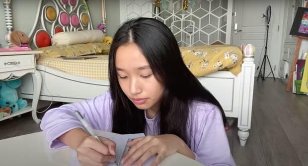 Giải mã sức hút từ loạt vlog triệu view quá là sến của cô bạn Việt 15 tuổi học trường quốc tế, có nhà bên Mỹ-8