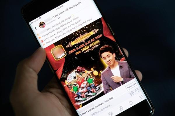 Sơn Tùng, Trấn Thành có mặt trong quảng cáo cờ bạc trên Facebook-1