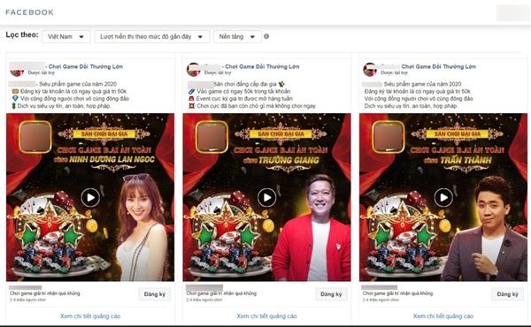 Sơn Tùng, Trấn Thành có mặt trong quảng cáo cờ bạc trên Facebook-2