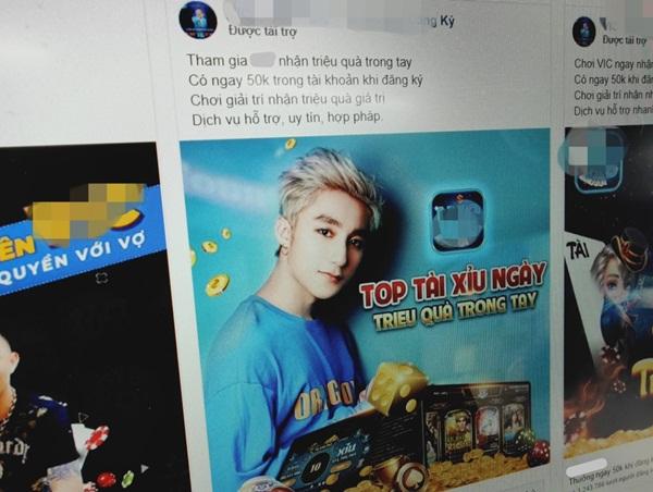 Sơn Tùng, Trấn Thành có mặt trong quảng cáo cờ bạc trên Facebook-3