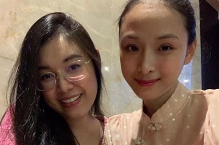 Hoa hậu Trương Hồ Phương Nga xuất hiện với nhan sắc rạng rỡ sau thời gian dài vắng bóng