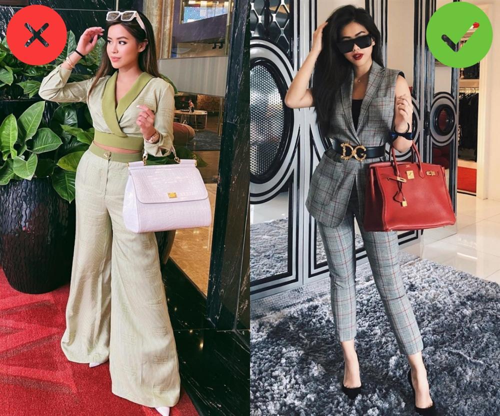 Nổi tiếng mặc đẹp mà Rich kid Tiên Nguyễn cũng có ngày chọn nhầm hàng hiệu khiến vóc dáng bị dìm thảm hại-1
