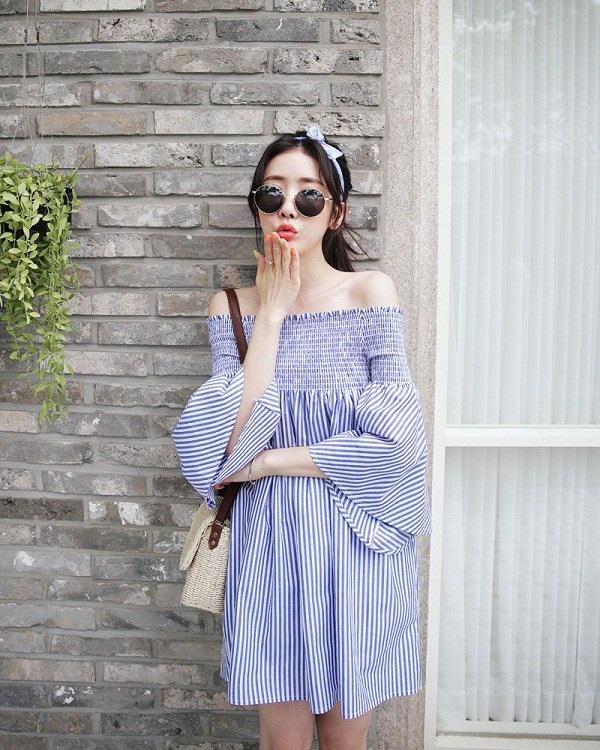 Các người đẹp Việt đang phải lòng một kiểu váy siêu thoải mái, diện vào mùa hè đẹp miễn chê-15
