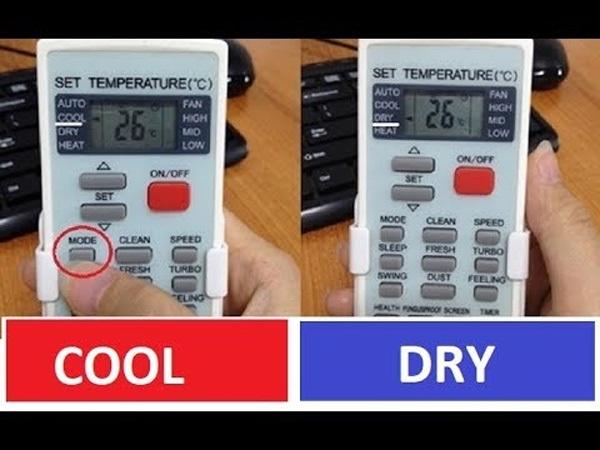 Chế độ Cool, Dry trên điều hòa là gì? Mùa hè nên bật cái nào để vừa tốt cho sức khỏe vừa tiết kiệm điện?-3