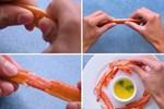 8 cách bóc vỏ thực phẩm không cần dao kéo khiến chị em vụng cũng thành đầu bếp 5 sao