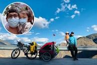 71 ngày, 4139 cây số, ông bố đơn thân đưa con gái 4 tuổi đi ngao du trên xe đạp