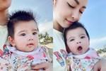 Mới đó mà con út của Jennifer Phạm đã tròn 6 tháng, mẹ khoe ảnh cận mặt khiến ai nấy xuýt xoa: 'Xứng danh con Hoa hậu'