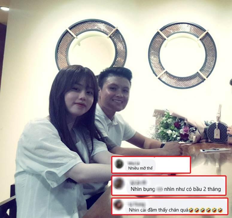 Bạn gái Quang Hải bị soi vòng 2 lớn bất thường-2
