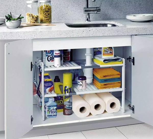 Sống khỏe với căn bếp nhỏ nhờ cách sắp xếp gọn-sạch-đẹp cực đơn giản-2