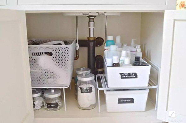 Sống khỏe với căn bếp nhỏ nhờ cách sắp xếp gọn-sạch-đẹp cực đơn giản-3
