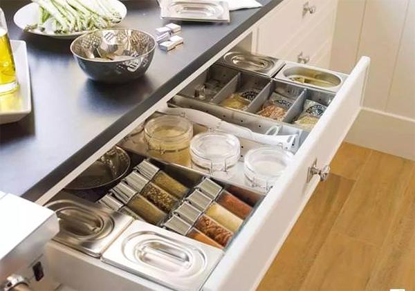Sống khỏe với căn bếp nhỏ nhờ cách sắp xếp gọn-sạch-đẹp cực đơn giản-15