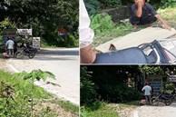 Thực hư thông tin cụ ông 80 tuổi tử vong do bị tài xế taxi bỏ dọc đường, con trai phải buộc thi thể lên xe máy đưa về nhà