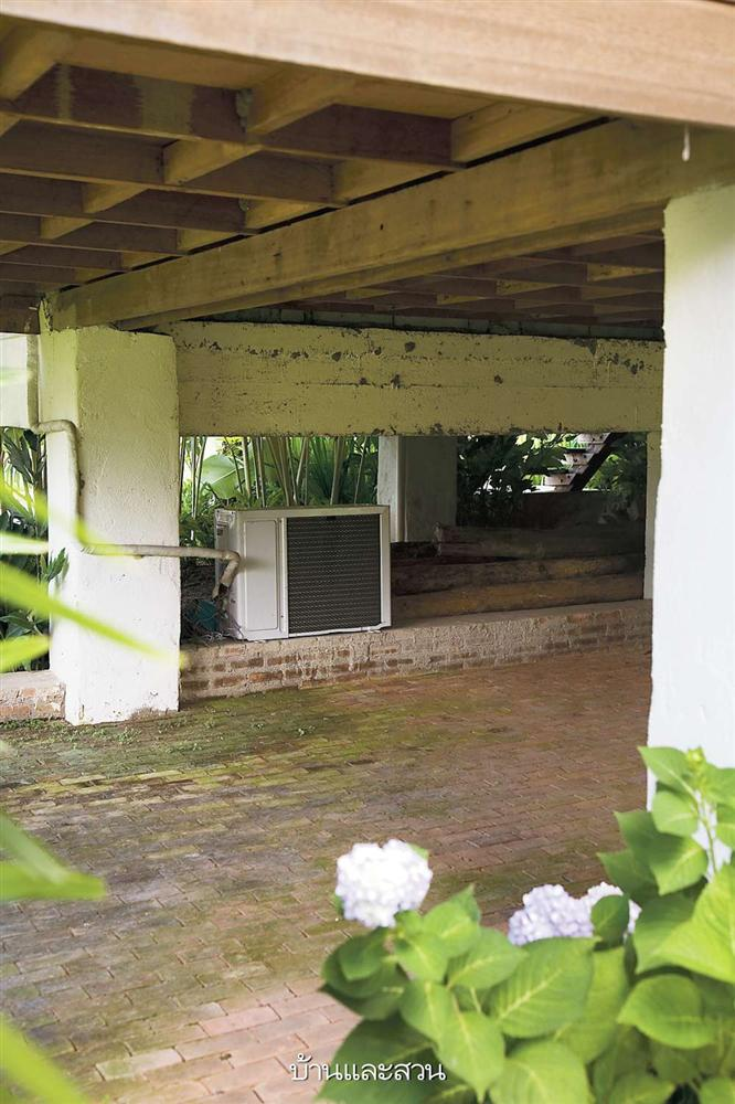 Nhà cấp 4 với thiết kế đẹp lãng mạn giữa cánh đồng lúa xanh tươi ở ngoại ô-3