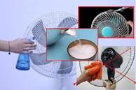 Dù quạt điện có bẩn đến đâu, hãy thử phương pháp này, không cần tháo dỡ hay lau chùi quạt sẽ như mới trong vài phút