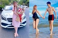 Kỉ niệm 1 năm ngày cưới, Thu Thủy khoe bụng bầu 7 tháng màthon gọn đến bất ngờ