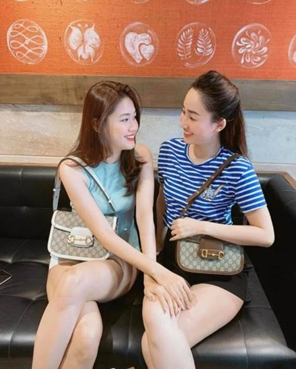 Chị em Á hậu lấy chồng đại gia: ăn mặc sang chảnh, lúc nào cũng xách túi hiệu đôi-1