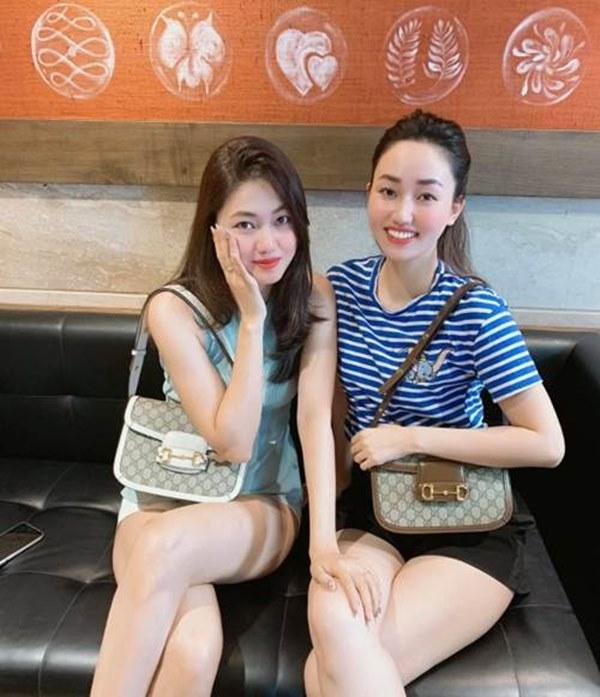 Chị em Á hậu lấy chồng đại gia: ăn mặc sang chảnh, lúc nào cũng xách túi hiệu đôi-2