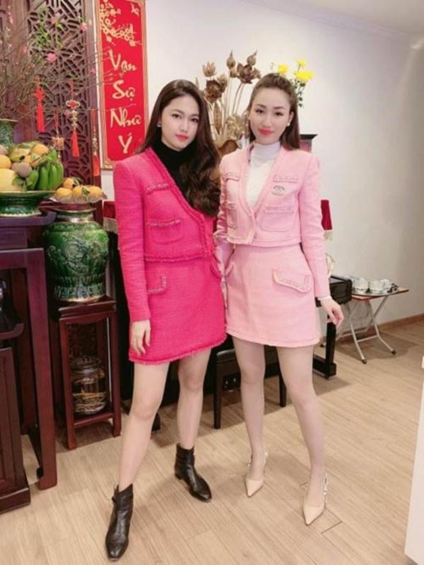 Chị em Á hậu lấy chồng đại gia: ăn mặc sang chảnh, lúc nào cũng xách túi hiệu đôi-3