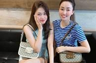 Chị em Á hậu lấy chồng đại gia: ăn mặc sang chảnh, lúc nào cũng xách túi hiệu đôi