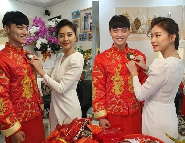 Tiết kiệm như Ngô Thanh Vân: Chỉ một bộ đầm trắng mà đả nữ diện từ ngày cưới em trai đến đám cưới thế kỷ của Đông Nhi-3