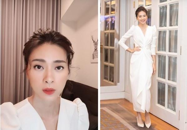 Tiết kiệm như Ngô Thanh Vân: Chỉ một bộ đầm trắng mà đả nữ diện từ ngày cưới em trai đến đám cưới thế kỷ của Đông Nhi-4