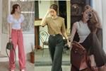 Những kiểu quần tôn dáng được sao Việt lăng xê, chị em đu theo thì chân dài tới nách là cái chắc-11