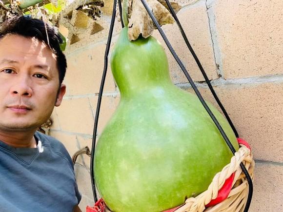 Ca sĩ Bằng Kiều khoe hoa quả thu hoạch trong vườn nhà, nhìn là mê-4