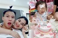 Quế Ngọc Hải mang thói quen ở tuyển VN về nhà, con gái khóc thét trong ngày sinh nhật