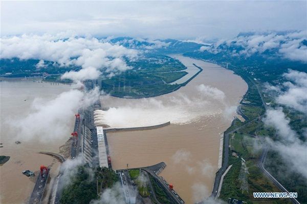 Đập Tam Hiệp chặn lượng nước lũ bằng 470 Tây Hồ Hàng Châu-4