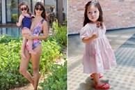 Con gái tròn 2 tuổi, siêu mẫu Hà Anh băn khoăn không biết nên cho con đi học chưa vì lý do siêu đáng yêu