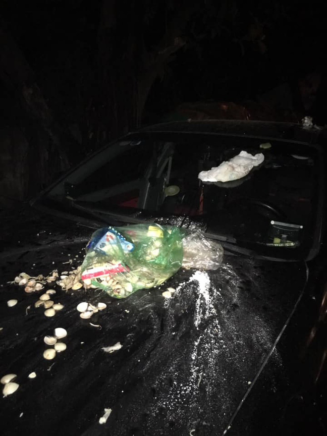 Đỗ xe chắn bãi rác, tài xế ô tô chắc sẽ hoảng hồn với thứ nhầy nhụa trên nắp ca - pô-2